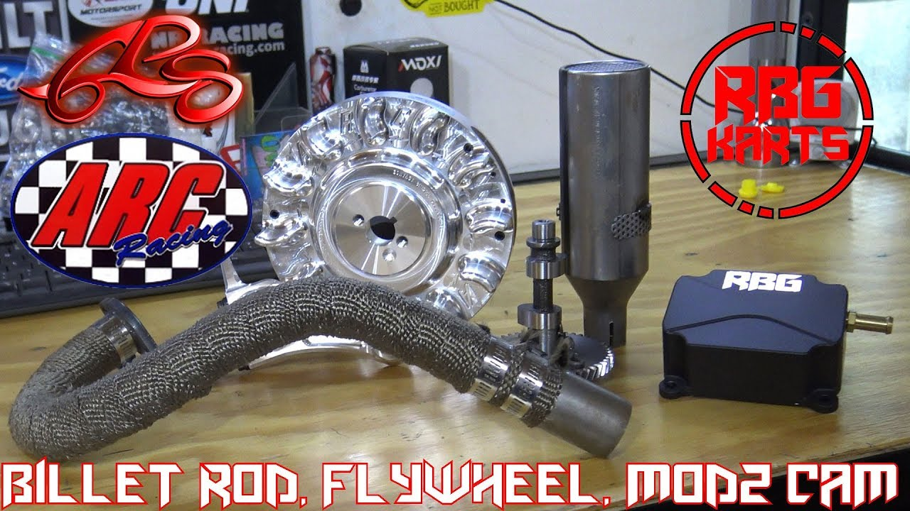 predator  stage  install billet rod billet flywheel mod cam youtube