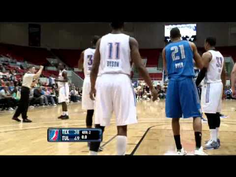 Tulsa 66ers - 96, Texas Legends - 81