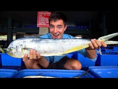 Taiwanese Seafood : RARE Fish Market + Taiwanese STREET FOOD in Taitung | EPIC Street Food in Taiwan