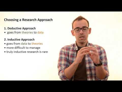 3.2 Choosing A Research Approach