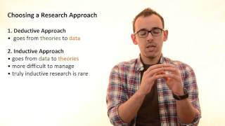3.2 Choosing A Research Approach