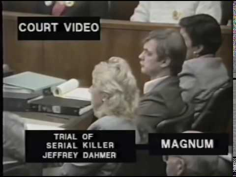 The trial of Jeffrey Dahmer Actual court room 92 VHS