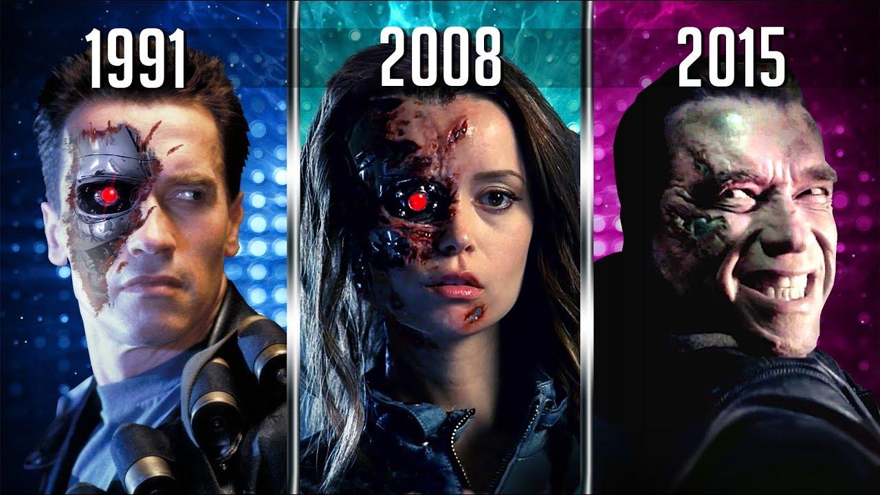 КАК МЕНЯЛСЯ Terminator