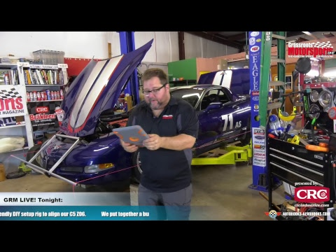 DIY String Alignment Stands. GRM Live! Presented By CRC Industries