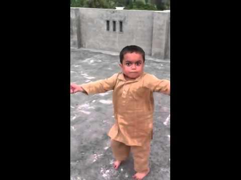 Funny Little Asian Kid Dancing
