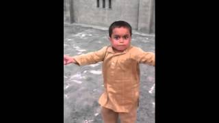 Funny Little Asian Kid Dancing