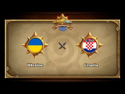 Ukraine vs Croatia, Hearthstone Global Games Group Stage