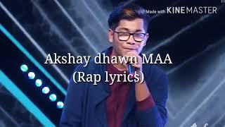 Gambar cover Akshay Dhawan maa rap song |lyrics| |Dil hai Hindustani|