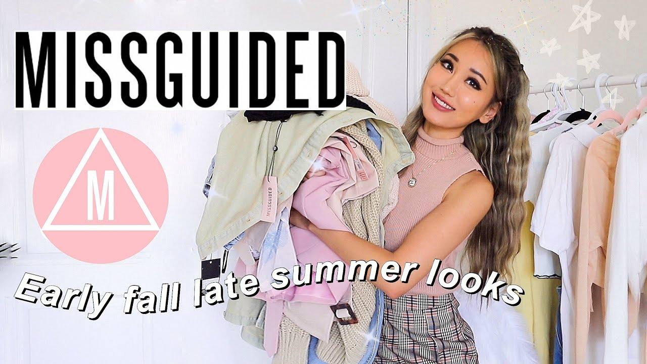 MISSGUIDED TRY ON HAUL | transitional weather // early fall late summer looks
