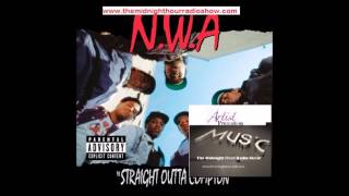 Straight Outta Compton N W A  Old School Groove The Midnight Hour Radio Show