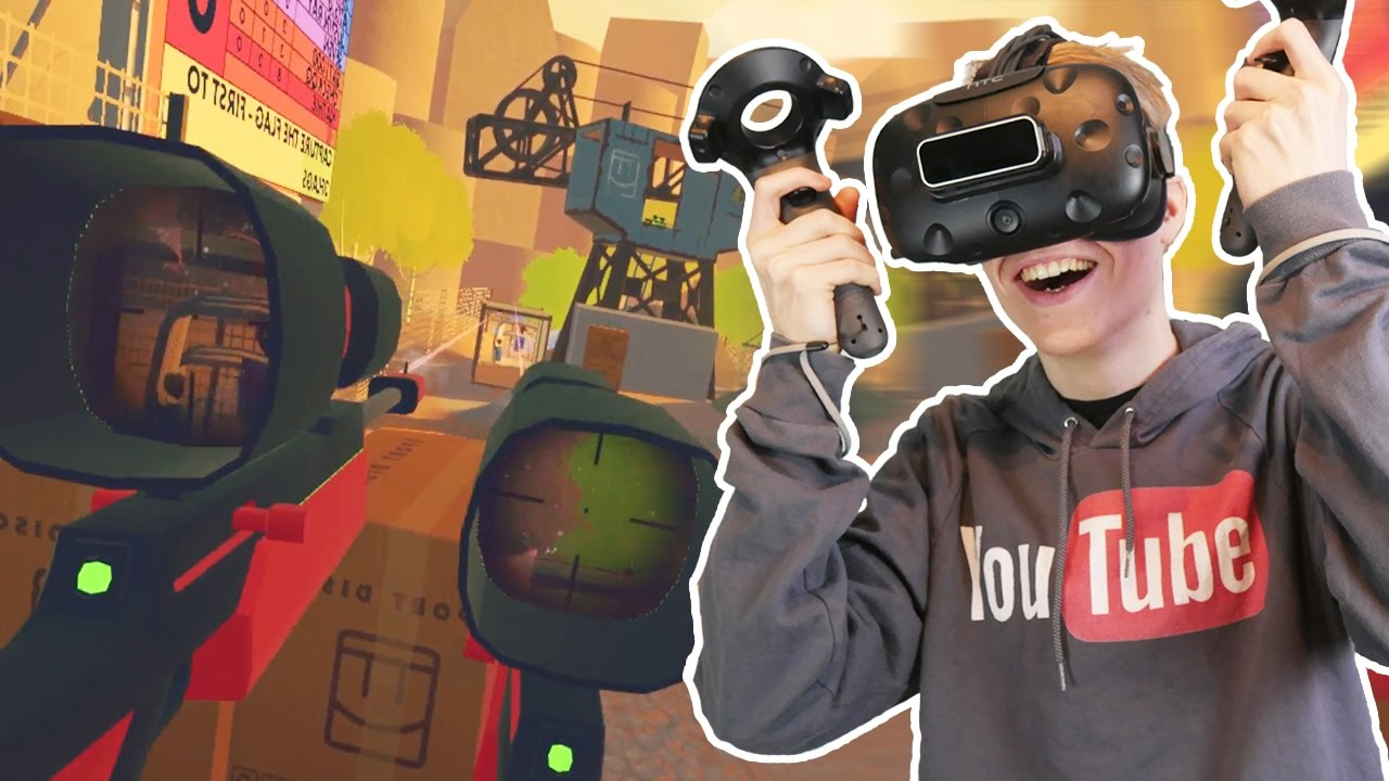 DUAL SNIPER RIFLE OVERKILL! | Rec Room: VR Paintball (HTC Vive Gameplay)