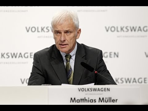 Speech Matthias Müller, CEO of Volkswagen AG