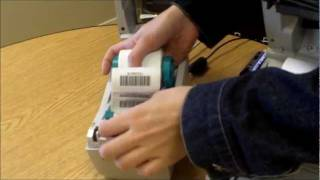Zebra LP 2824 and TLP 2844 Barcode Printer Demonstration