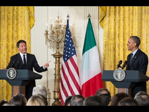 The President and Prime Minister of Italy Hold a Joint Press Conference