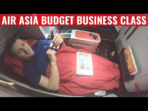 Review: Air Asia X A330 Business Class - World's Best Budget Airline?