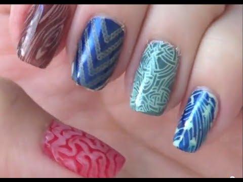 Youtube Cheeky Nail Stamping 58
