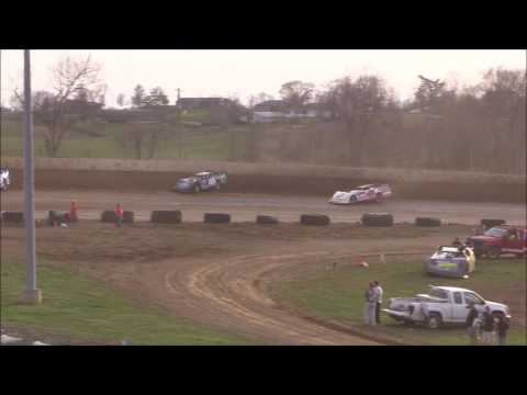 Super Late Model Heat #3 from Florence Speedway, March 25th, 2017.