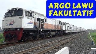 Argo Lawu Fakultatif ngebut di PJL 274 Klaten