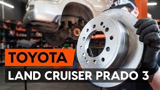 Installation Spannrolle, Zahnriemen TOYOTA LAND CRUISER: Video-Handbuch