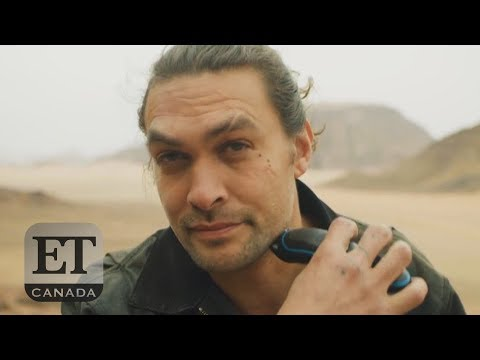 Pat McMahon - Jason Momoa Shaves His Beard For A Good Cause - Hollywood Headlines 4-19