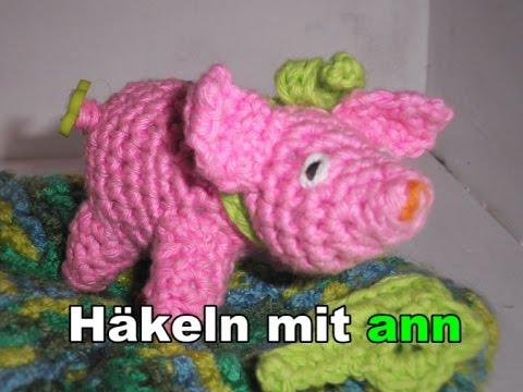 Edgar Das Kleine Glücksschwein German Version Amigurumi Youtube