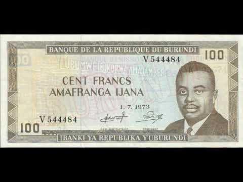 Paper money Burundi - franc Burundi - banknotes - banknotes