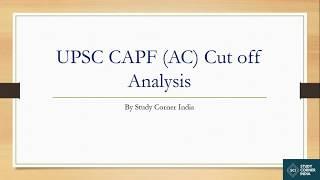 upsc-capf-exam-cut-off-analysis-capf-exam-2014-to-2016-3-years