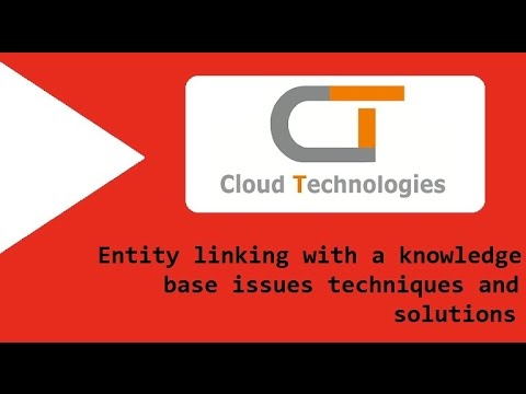 Entity linking with a knowledge base issues techniques and solutions