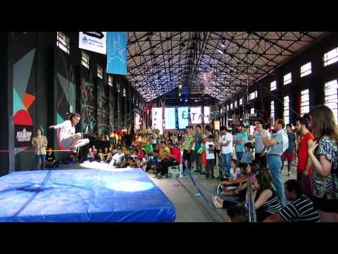 Trailer Torneo de Trickline PUMP -  tecnópolis