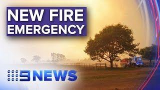 Four new emergency fire warnings issued in NSW   Nine News Australia