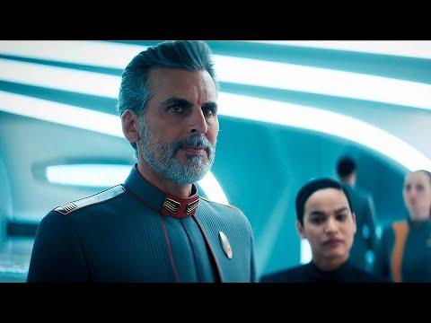 Saru & Burnham Meet Admiral Charles Vance - Star Trek Discovery 3x05