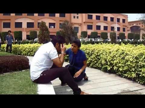 latest funny prank video by HCTM college Kaithal || Go crazy with creative mindz