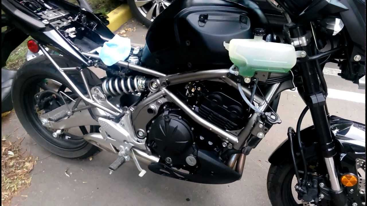 Kawasaki Versys Plastics