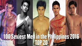 100 sexiest men in the philippines 2016 - meet the top 20 - james reid, xian lim, and more!