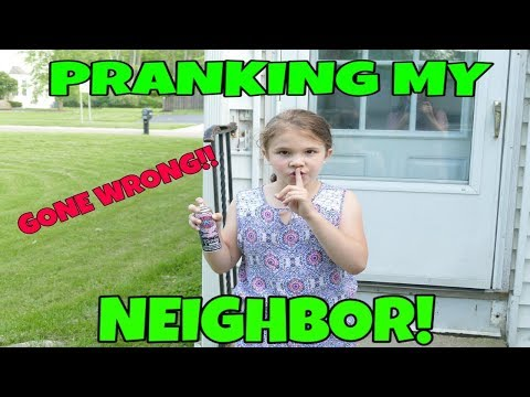 Pranking My Mean Neighbor Gone Wrong! They Chased Me