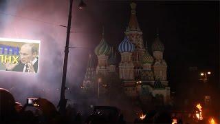 Правий сектор співае пісню групи Ленінград. Москва. Майдан. Осінь 2014-го