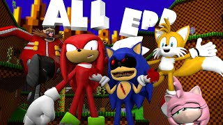 ALL EPISODES HOW TO MAKE SONIC EXE NOT SCARY