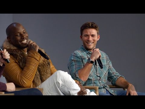 The Fate of the Furious Cast Interview with Tyrese Gibson and Scott Eastwood