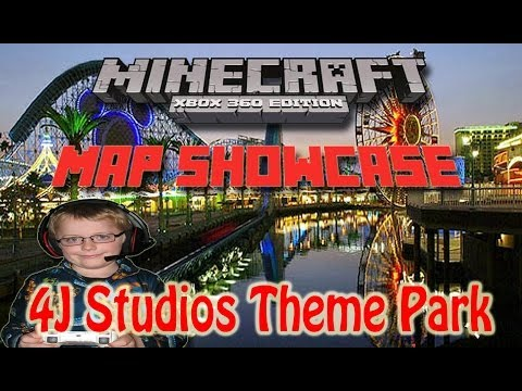 Minecraft Map Showcase 4J Studios Theme Park (Not Another Th