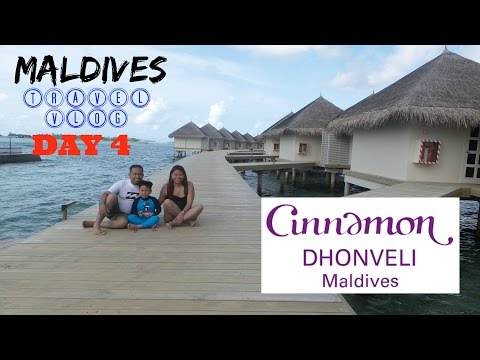 MALDIVES DAY 4  - DAY TOUR AT CINNAMON! - VLOG 19 (25 August 2016) - tintinVLOG