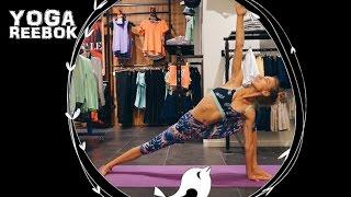 Открытые уроки йоги Reebok | YOGA REEBOK