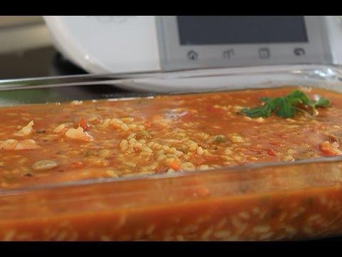 recetas de arroz caldoso thermomix
