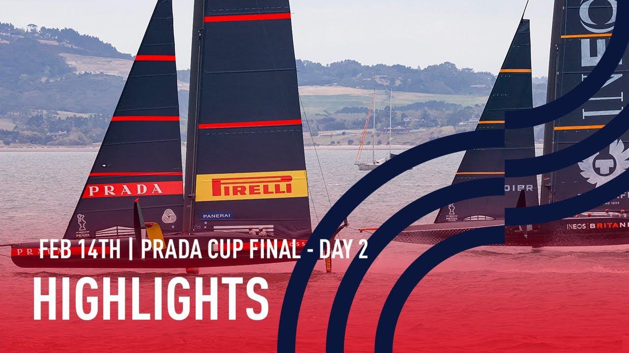 PRADA Cup Final Day 2 Highlights
