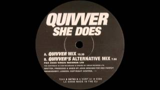 Quivver - She Does (Quivver Mix)  |VC Recordings| 2000