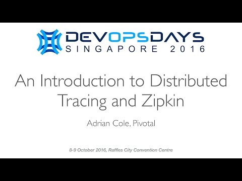 An Introduction to Distributed Tracing and Zipkin - DevOpsDays Singapore 2016