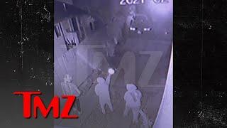 Surveillance Video Shows Men Open Fire on Laney Keyz's L.A. Home | TMZ