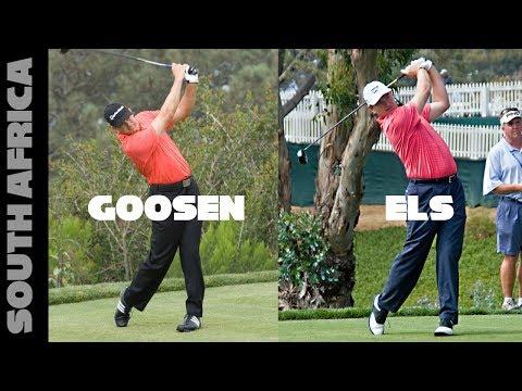 Ernie Els And Retief Goosen - Smooth Golf Swings