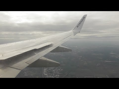 Ryanair Boeing 737-8AS | London Stansted to Cologne Bonn *FULL FLIGHT*