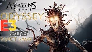 Assassin's creed Odyssey (E3 trailer) React + AMV