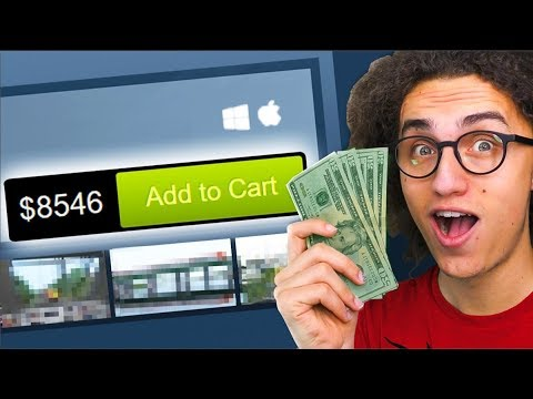 BUYING THE MOST EXPENSIVE GAME EVER! ($8,546.72)